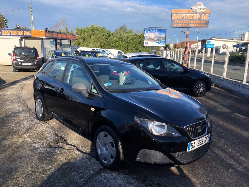 seat ibiza st 1 2 tdi75 fap referenced 39 occasion a bayonne. Black Bedroom Furniture Sets. Home Design Ideas